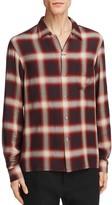 Vince Plaid Slim Fit Button-Down Shirt