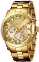 JBW Goldtone Delano Chronograph Watch - Men
