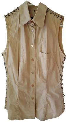 Jean Paul Gaultier Beige Cotton Top for Women Vintage