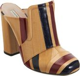 Dries Van Noten Striped Eel Mule