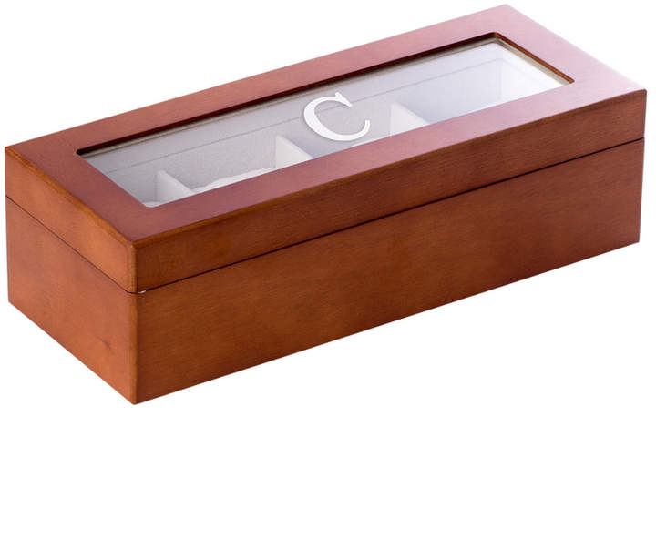 Bey-Berk Bey Berk Cherry Wood 4 Watch Box