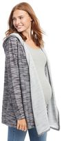 Maternity Oh Baby by MotherhoodTM Marled Hoodie