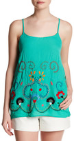 VAVA by Joy Han Embroidered Tank