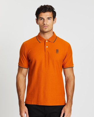 Kent And Curwen Embroidered Logo Polo Shirt