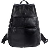 SAIERLONG New Womens Genuine Leather Backpack Shoulder Bags Casual Daypacks Travel Bags College School Backpack Rucksack