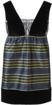 Isa Arfen striped mini dress