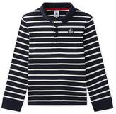 Petit Bateau Boys long-sleeved polo