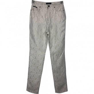 Valentino Multicolour Polyester Jeans