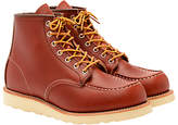 Red Wing Moc Oro-russet Portage Toe Boot, Red