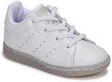 adidas STAN SMITH EL I girls's Shoes (Trainers) in White