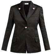 Wales Bonner Holkar Satin Jacket - Womens - Black