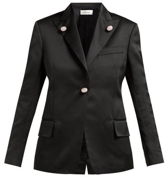 Wales Bonner Holkar Satin Jacket - Black