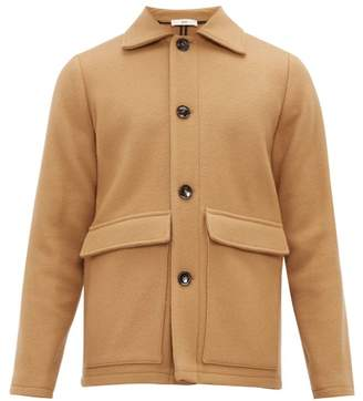 Séfr Keith Wool Blend Jacket - Mens - Camel