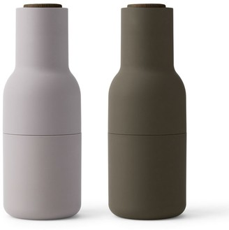 Menu Bottle Grinder 2 Pack Hunting Green & Beige - Green