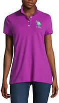 U.S. Polo Assn. Short Sleeve Solid Knit Polo Shirt Juniors