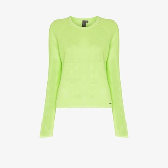 Sweaty Betty Idol mesh jumper