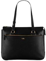 Tula Rye Leather Tote Bag, Black