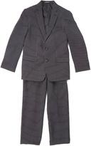 Van Heusen Black Stripe Two-Piece Suit - Boys