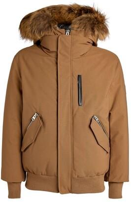 Mackage Fur-Trim Dixon Bomber Jacket