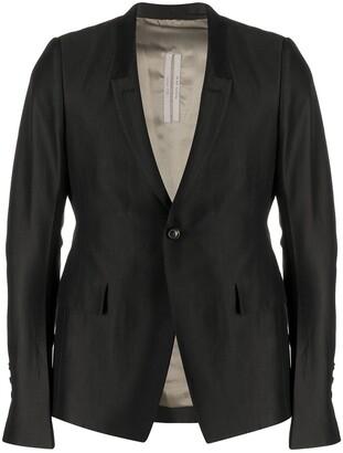 Rick Owens Long-Sleeved Blazer