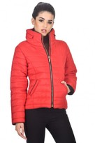 AX Paris Red Puffer Jacket