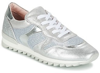 Unisa DAYTONA girls's Shoes (Trainers) in Silver