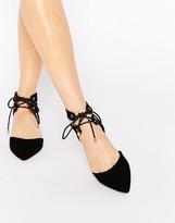 Carvela Marley Ghillie Flat Shoes