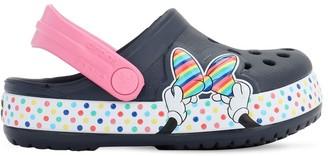 Crocs Minnie Mouse Print Rubber