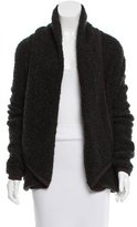 Donna Karan Long Sleeve Knit Cardigan