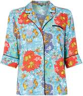 Biba Tokyo print pj style blouse