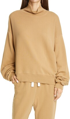 Frame Organic Cotton Turtleneck Sweatshirt
