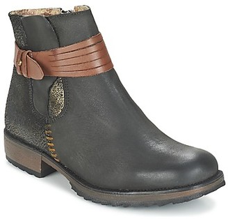 Bunker TAYLOR women's Mid Boots in Black
