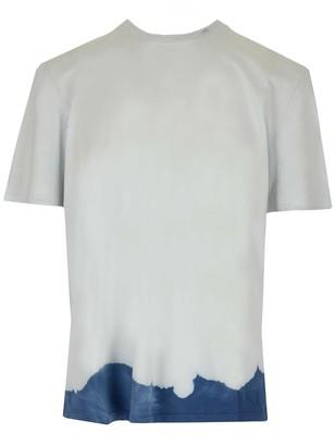 MSGM Bleached Effect T-Shirt