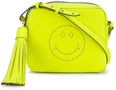 Anya Hindmarch Neon Smiley Crossbody Bag - Yellow