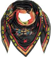 Givenchy Modal and Silk Stars Printed Wrap