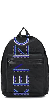 Kenzo embroidered logo backpack