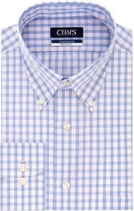 Chaps Men's Slim-Fit Button-Down Dress Shirt