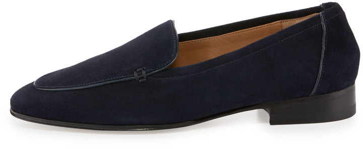 The Row Adam Suede Loafer