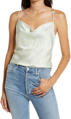 WAYF Axel Cowl Neck Camisole Top