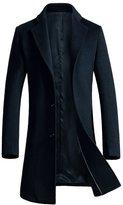 Oncefirst Men's Winter Wool Blend Pea Coat 35