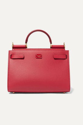Dolce & Gabbana Sicily 62 Leather Tote - Red