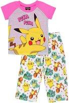 Pokemon Pika Pika Pajamas for girls
