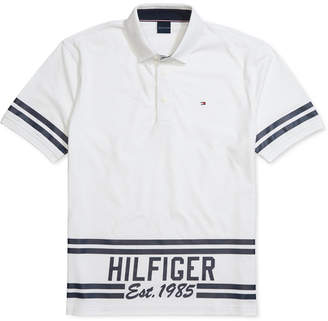 Tommy Hilfiger Adaptive Men Hemenway Custom-Fit Polo Shirt with Magnetic Buttons
