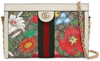 Gucci Flora Gg Supreme Chain Shoulder Bag