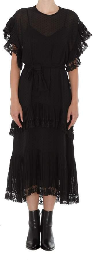Zimmermann Long Pleated Dress