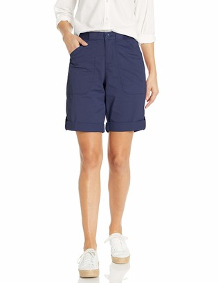 Lee Uniforms Lee Women's Flex-to-go Relaxed Fit Utility Bermuda Short