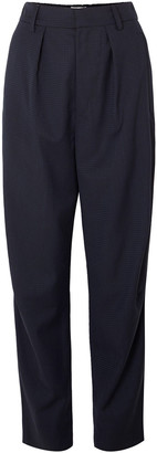 Isabel Marant Nimura Houndstooth Wool Tapered Pants