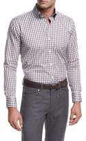 Peter Millar Collection Northern Lights Check Sport Shirt