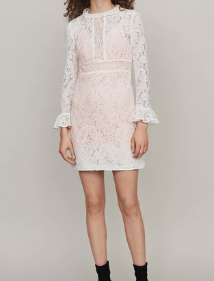 Maje Shortguipure lace dress