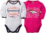 Gerber Denver Broncos Pink Long-Sleeve Bodysuit - Infant